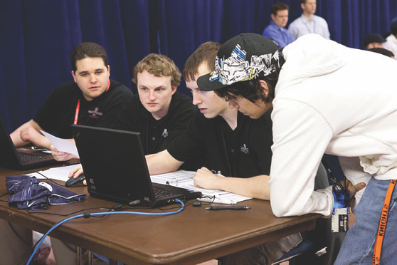 Cyber Battle Team at Cybersecurity Competition