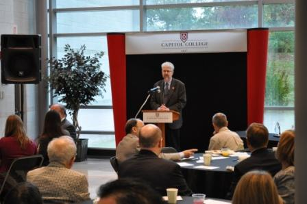 Rhodes delivers keynote address