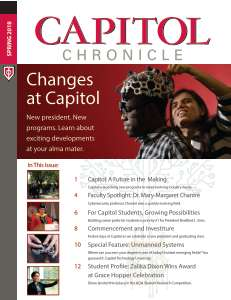 Capitol Chronicle Fall 18