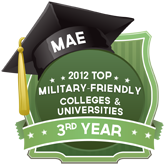 Military Friendly Colleges & Universities - MAE