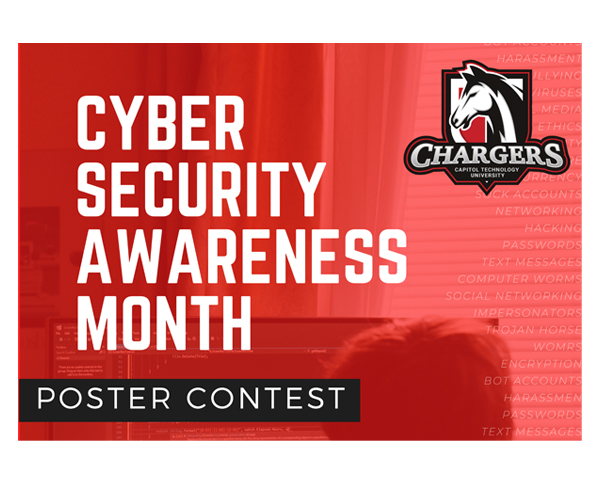 Cybersecurity Awareness Month poster contest