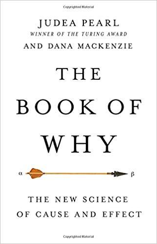 book cover the book of why