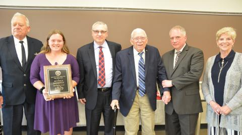 John Dettra Trustee Emeritus award