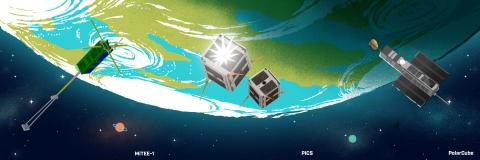 Cube-sat payload Cactus-1 Virgin Orbit launch